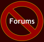 No Forums